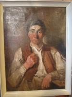 Szüle Péter, Férfi portré