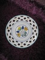 Csipke mintás,kerámia tányér,  24cm, 92.