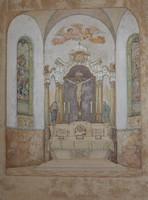 Bátki József: Templombelső