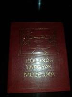 Lázár Gyula : Különös Tárgyak Múzeuma minikönyv