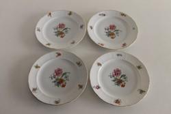 4 db Meissen porcelán süteményes tányér