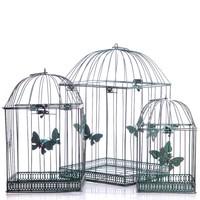 Három darab madár kalitka