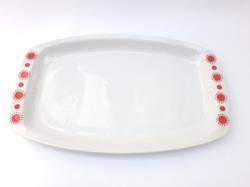Alföldi centrum varia - napocskás nagytálca - tálaló tál - szögletes tálca - retro porcelán tányér