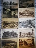 Budapest képeslapok 10 db