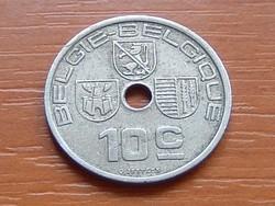BELGIUM BELGIE - BELGIQUE 10 CENTIMES 1939 #
