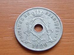 BELGIUM BELGIQUE 25 CENTIMES 1929  #