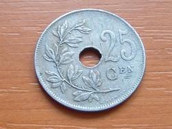 BELGIUM BELGIE 25 CENTIMES 1929  #