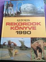 Guinness rekordok könyve 1990. Vianco studio kiadó 1990., ajánljon!