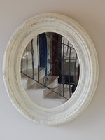 Vintage Tükör,,ovál,95 x 80 cm.