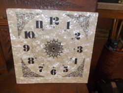 Nagyméretű óra falióra vagy állóóra számlap