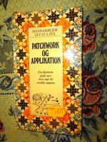 Patchwork és aplikált  kézimunka könyv ( idegen nyelvű)