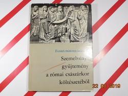 Szemelvény gyűjtemény a római császárkor költészetéből - latin nyelven