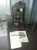 Antik Agfa Box 50-es Fényképezőgép