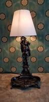 Fém asztali lámpa...71 cm magas