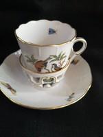 RO-12 Különleges Herendi Rothschild csokoládés csésze hibátlan