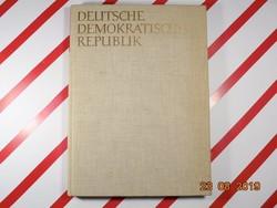 DDR - NDK - Német Demokratikus Köztársaság - fotóalbum, képeskönyv 1960-as kiadás