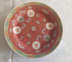 Jelzett mintás kínai tányér