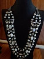 Többsoros dekoratív nyaklánc