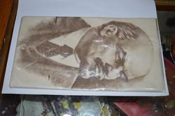 Lenin fejes terítő