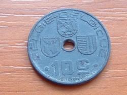 BELGIUM BELGIE - BELGIQUE 10 CENTIMES 1942  WW II CINK