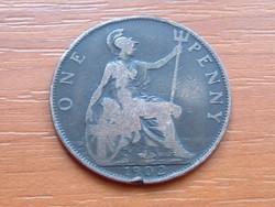 ANGOL ANGLIA 1 PENNY 1902