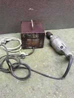 Régi 42 V-os fúrógép