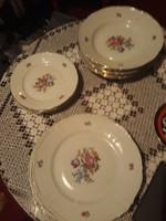 Német porcelán tányér