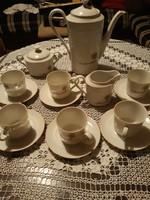 Német porcelán kávéskészlet