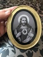 Régi szentkép 12×10 cm.
