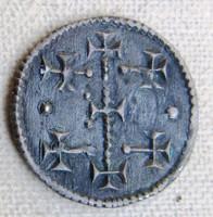III.István /1162- 1172/ ezüst denár ÉH 79