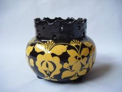 HMV Hódmezővásárhelyi koronás váza