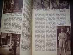 DEDIKÁLT! Film Színház Muzsika Palcsó Sándor autogrammal címlap Vetró Margit, Feleky Kamill