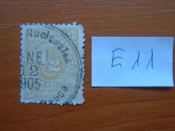 KOLUMBIA 1/2 C 1904 címer és ábrák  E11