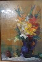 Vilhelm Károly virágcsendélet