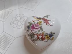 Szív alakú Anita porcelán  /  2706