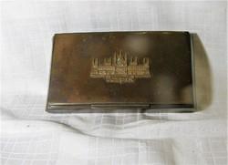 Országházzal díszített budapesti emlék doboz