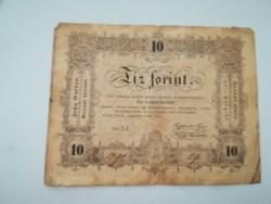 1848-as 10 forint Kossuth Lajos SAJTÓHIBÁS RR!