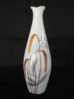 Aquincumi porcelán kézi festésű váza