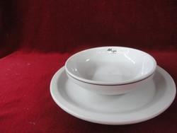 LILIEN porcelán Ausztria, müzlis tál + alátét.