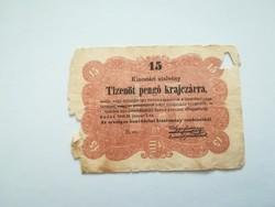 1849-es 15 krajcár