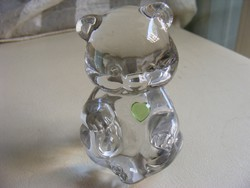 Fenton kristály maci mackó medve