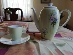 Rosenthal kávés kanna és csésze aljjal