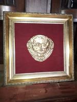 Agamemnon maszk - másolat.