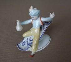 - Aladin - Hóllóházi porcelán figura-