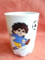 Zsolnay porcelán Espana '82 emlék csésze