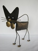 Retro fém cica macska