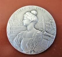Francia Zenei Konzervatórium első hely szolfézs érem 1925