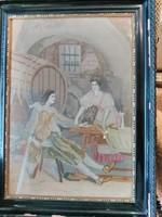 Gobelin az 1900-as évek első feléből
