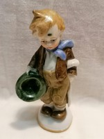 Jelzett számozott Német porcelán figura