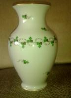 Herendi  váza petrezselyem mintával , 17.5cm